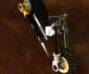 Custom Lego Chopper Bike