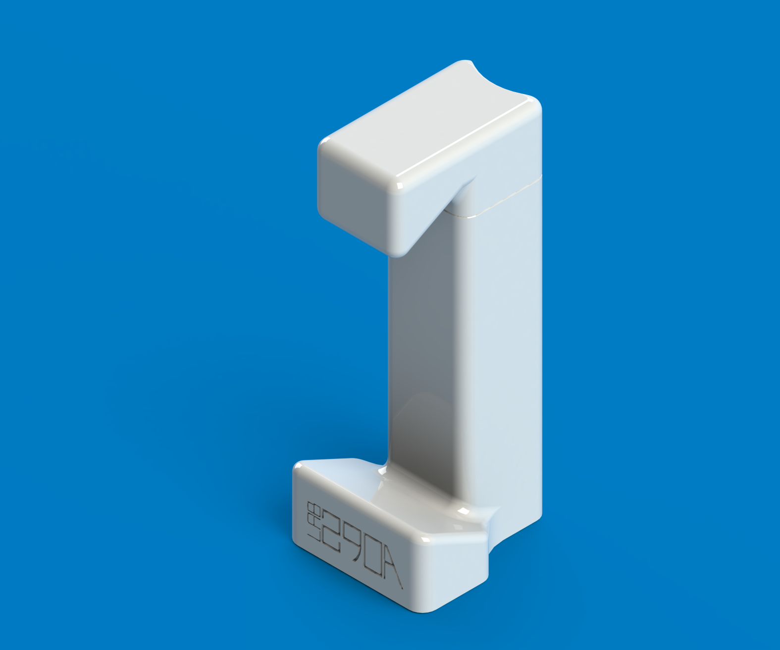 A Custom 3D Printed Adjustable Tripod Adapter for your Smartphone
