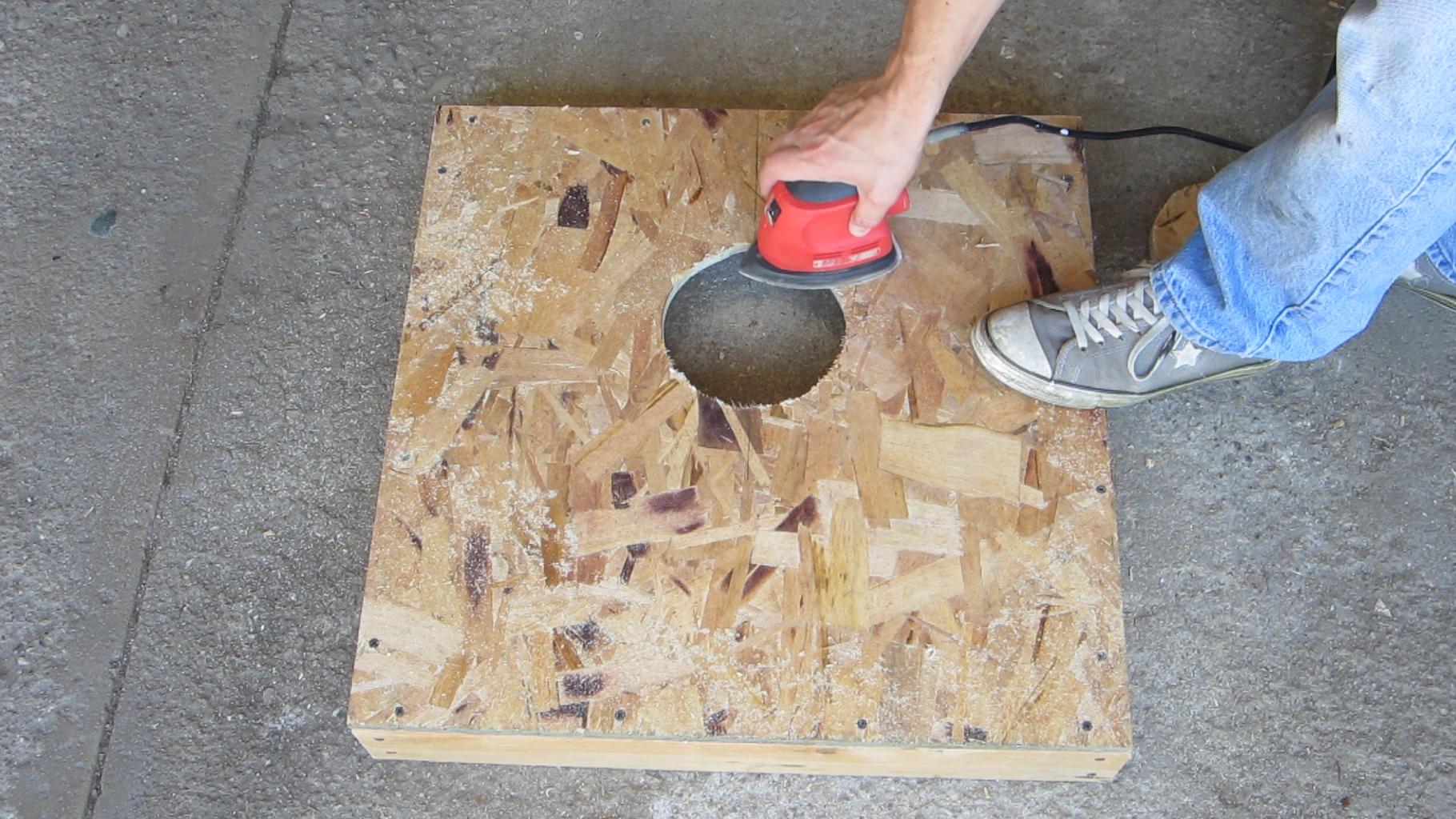Cut a 6 Inch Hole in One Board