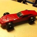 Pinewood Derby Car on Shopbot