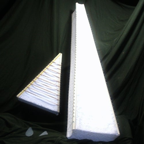 Styrofoam Harps