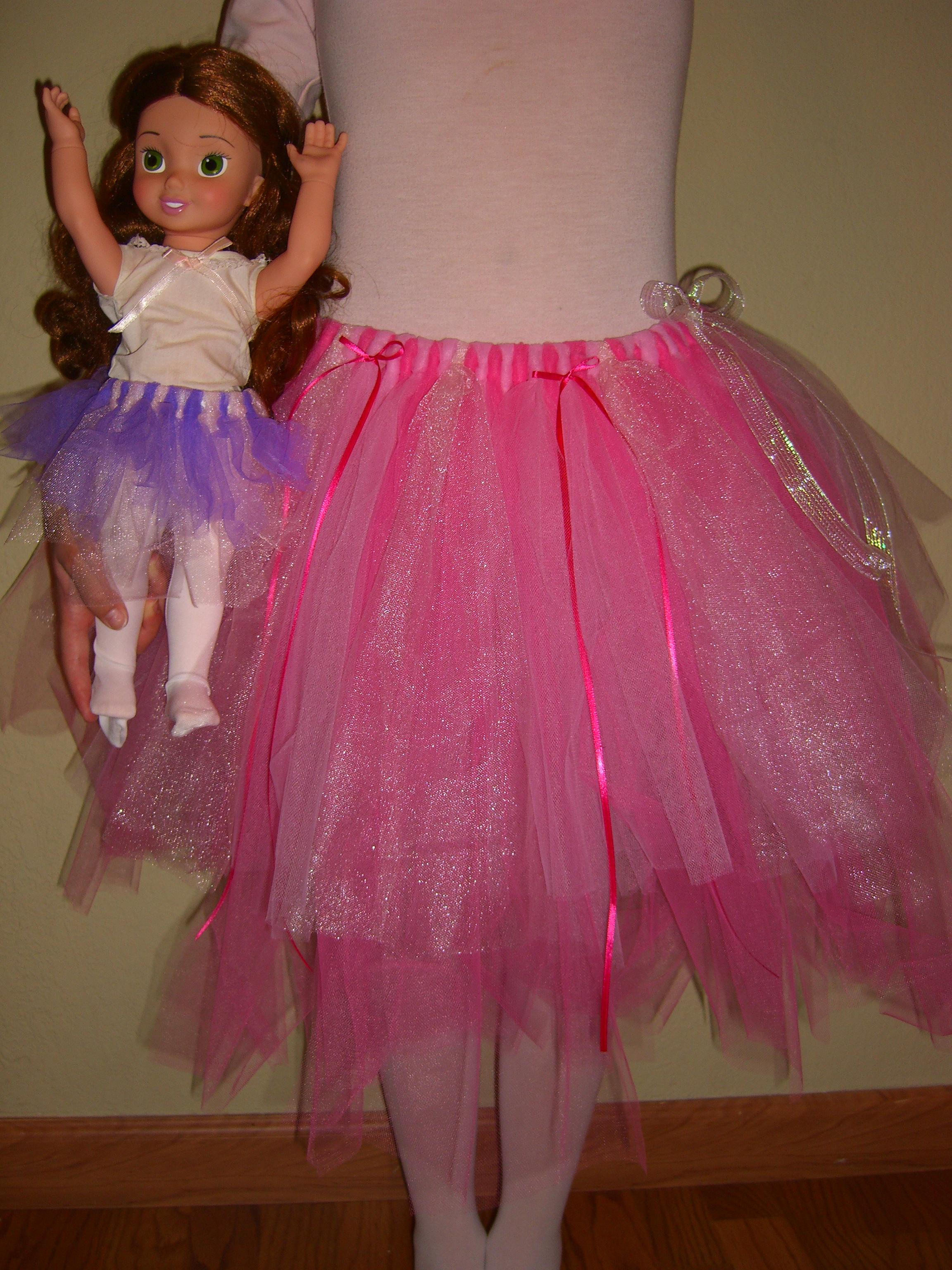kid friendly fluffy tutu!