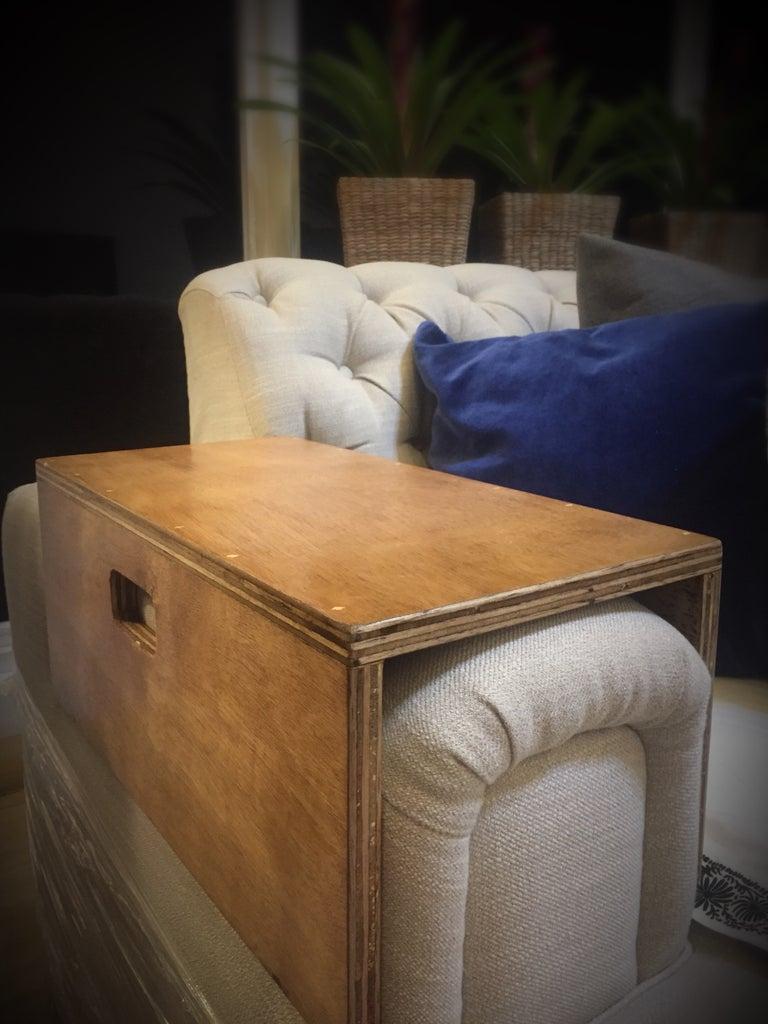 """""""MeSofa"""" - Mesa Sa Sofa (Detachable Food Tray for Sofas With an Arm Rest)"""