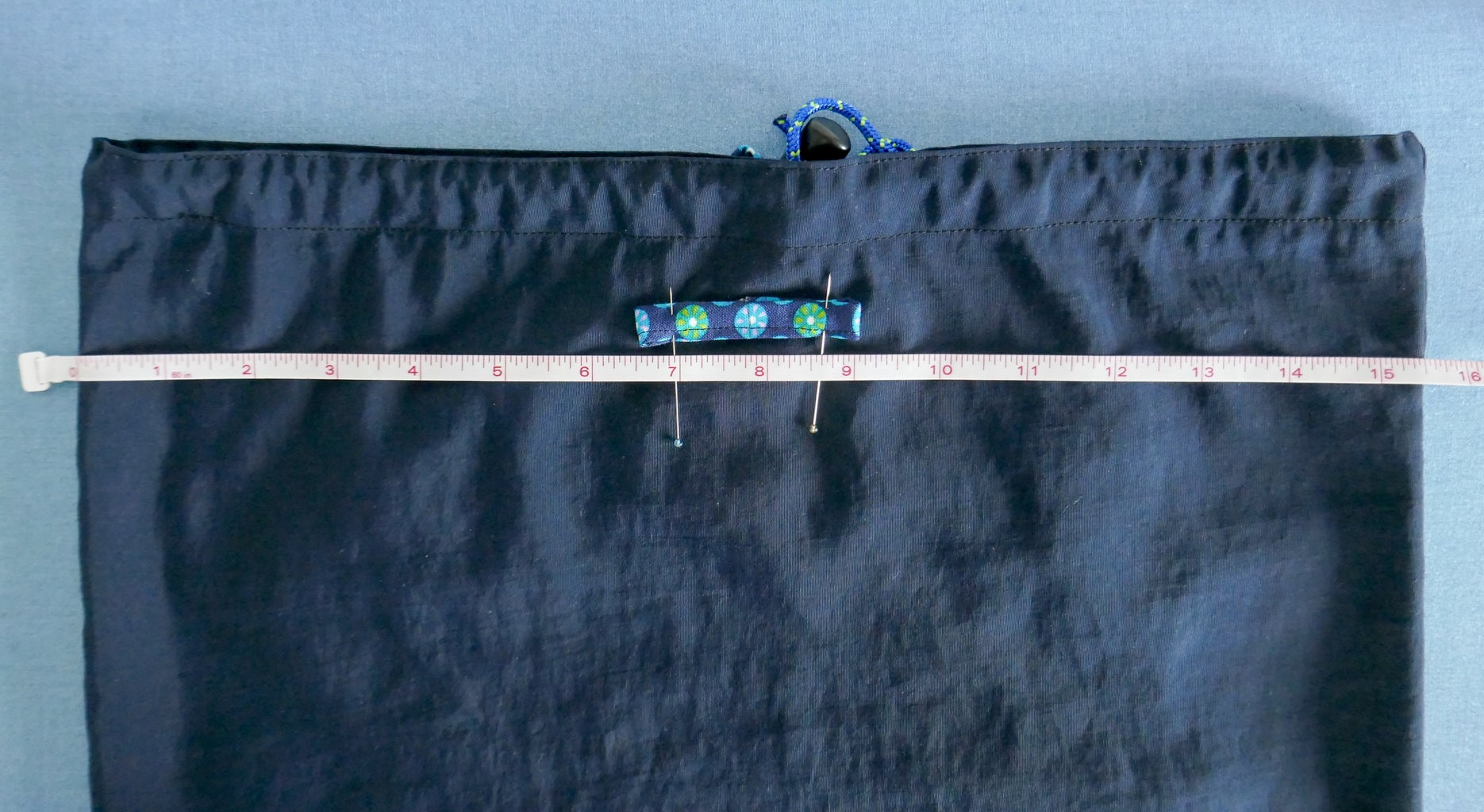 Sew Tab for Straps to Back of Pack