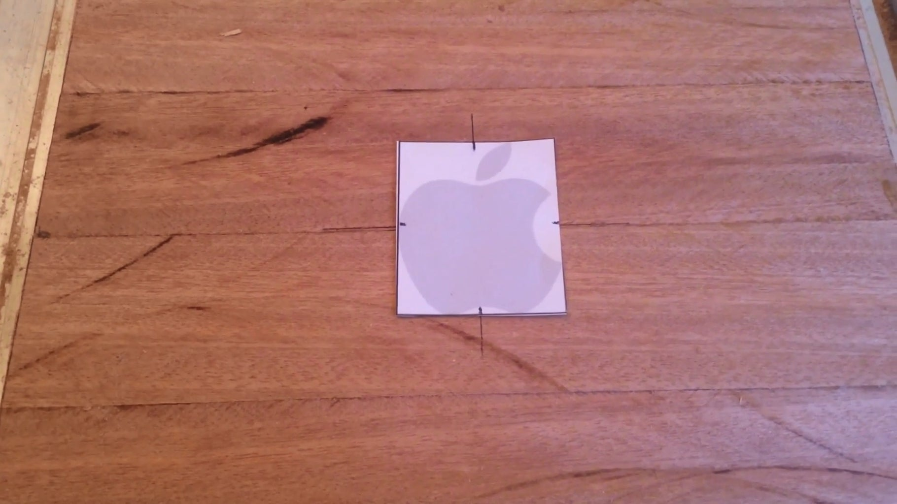 Step 7 - Router Apple Logo (inlay)
