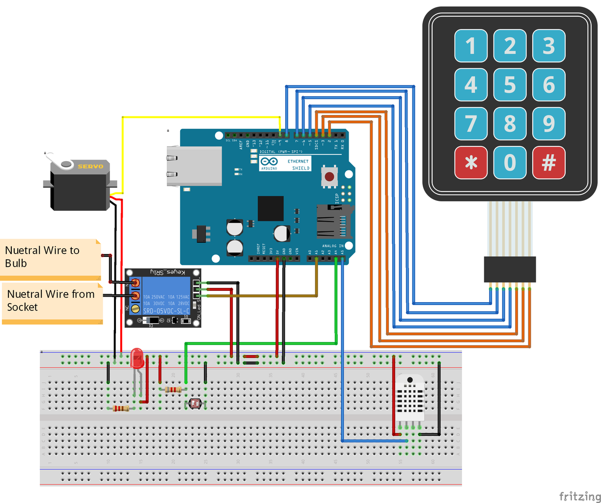 Connecting Relay and Bulb