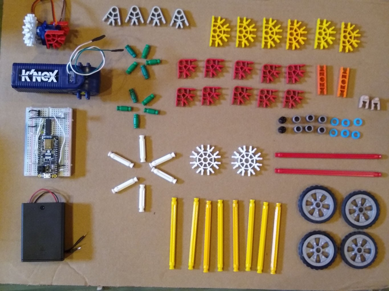 Required Parts for This Project