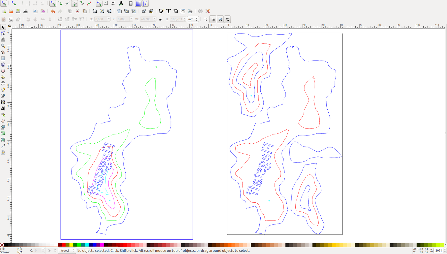 Lasercut Your Svg Files and Assemble Your Mountain