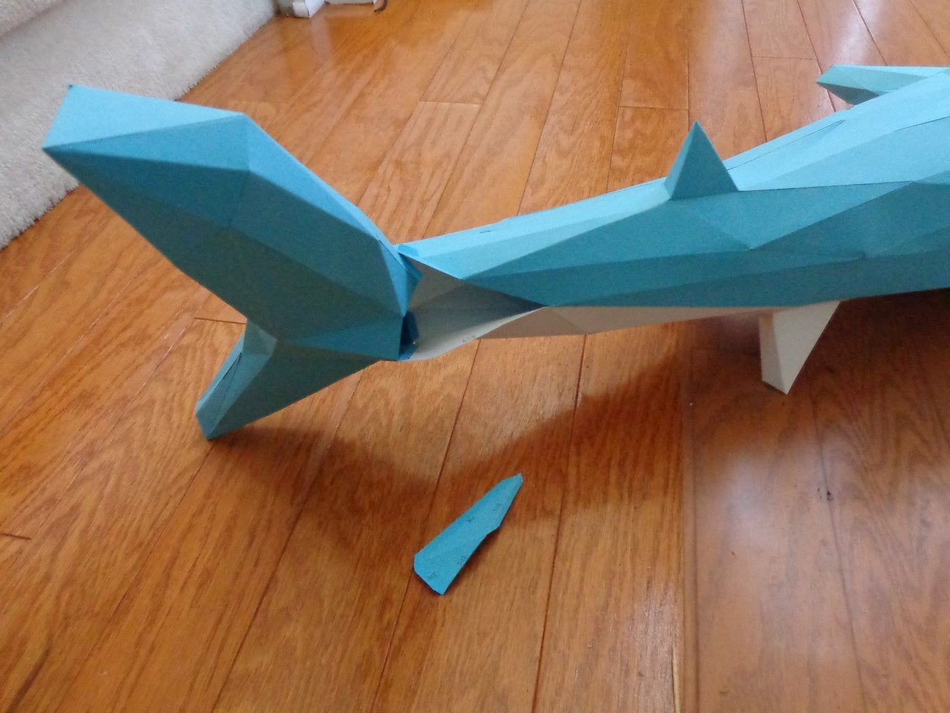 Add the Tail Fin