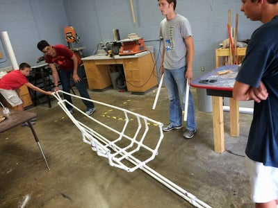 Build the Stern and the Bow