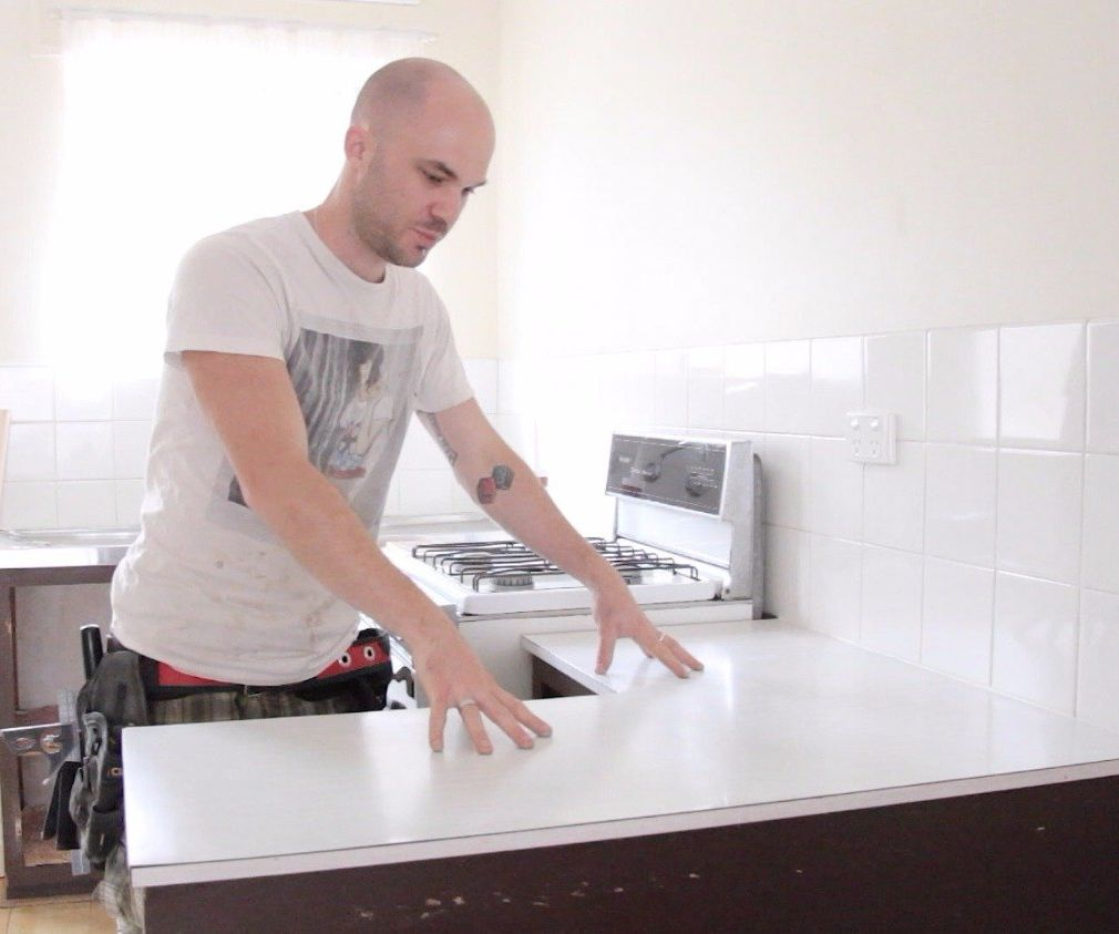 How to Install a Kitchen Countertop (Without Removing the Old One)