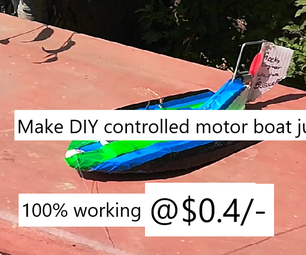 DIY ECONOMIC MOTOR BOAT (with Step by Step Images and Video)