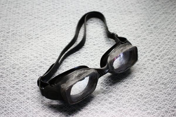 Make Your Own Prescription Swimming Goggles