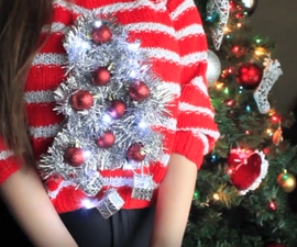 DIY Ugly Xmas Jumper(hidden Moral in INTRO)