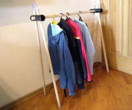 Clothes Rack (no Screws)