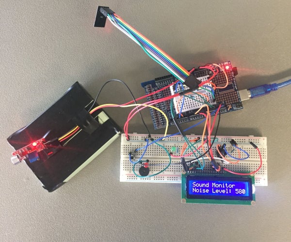 Arduino Sound Monitor