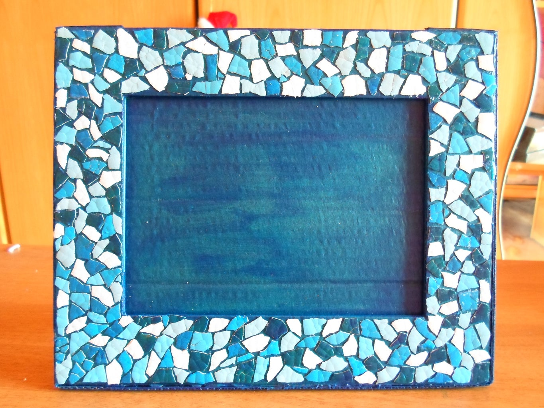 Eggshell Mosaic Frame