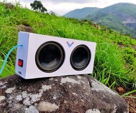 Diy Portable Aux Speaker
