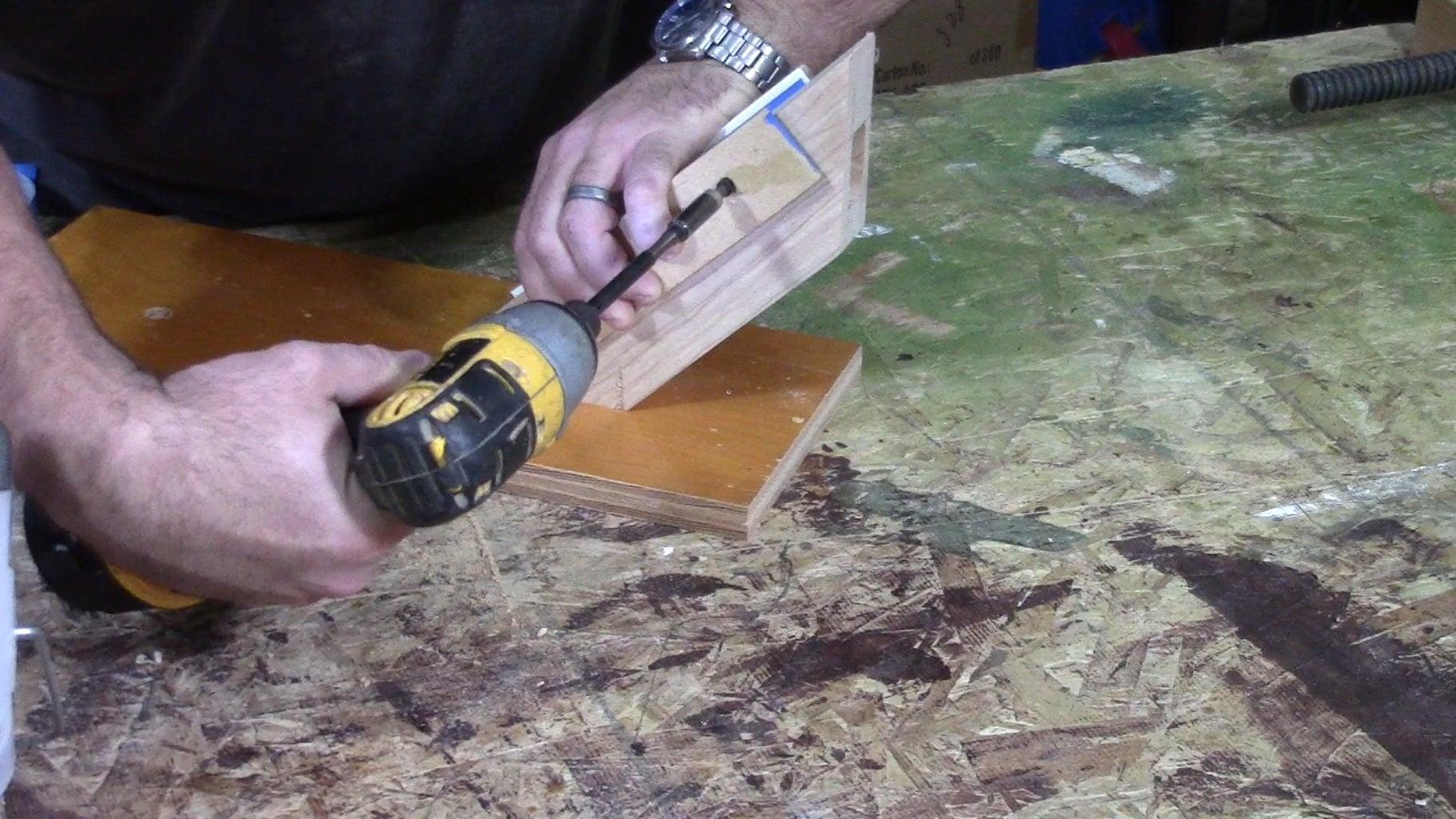 Make a Drill Press Jig.