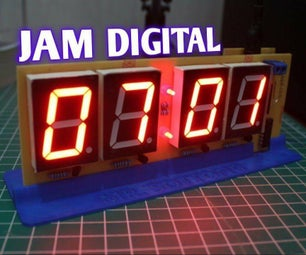 How to Make NTP Clock Using ESP8266 and 74HC595 [V1.0]
