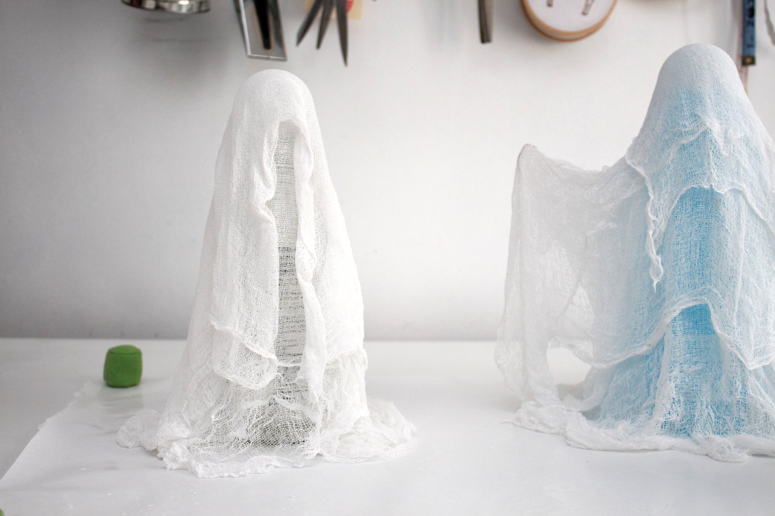 Start Draping the Cheesecloth