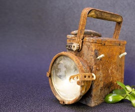 Railroad Lantern Upgrade and Restoration
