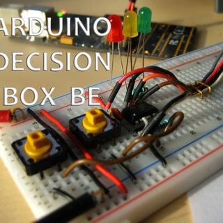 Attiny85 Decision Box V2.0