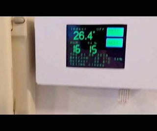 ESP8266 WiFi Touch Screen Thermostat (EasyIoT Cloud)
