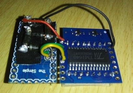 Solder LED Matrix to Target Arduino