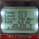 PC Hardware Monitor With Arduino and Nokia 5110 LCD