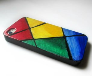 Recycled Colorful Phone Case