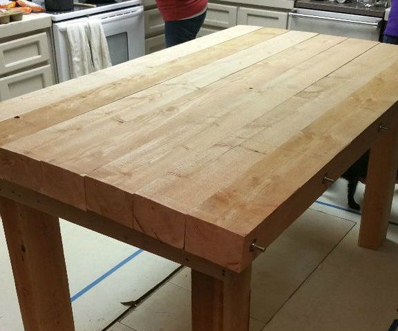 All Purpose Rough Sawn Project Table
