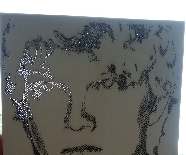 Lasercut Your Portrait! :)