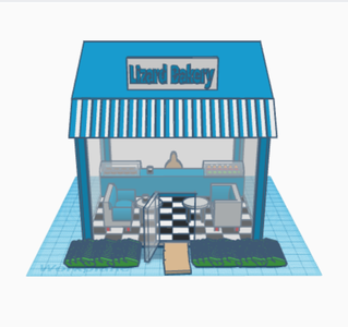 Coffee Shop and Bakery (Scene)