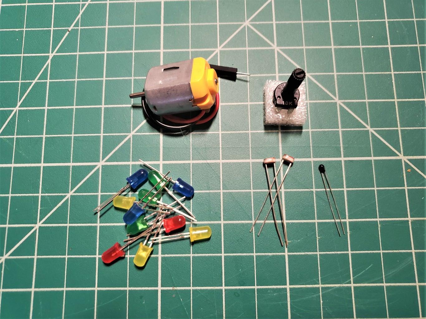 Analog Sensors!