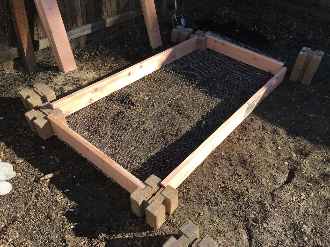 Layout the Bed