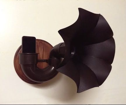Victrola Style Passive Speaker