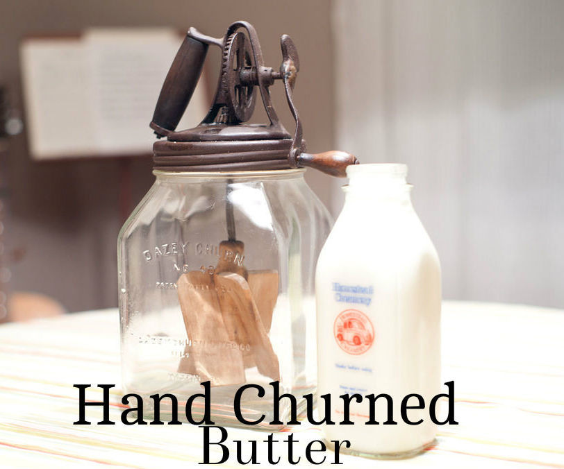 Authentic Hand Churned Butter