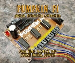 Pumpkin Pi Digital Decoration Controller