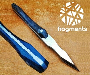 Decorative Markingknife Filework With Epoxy Fill
