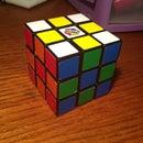 Checkered Rubik's Cube