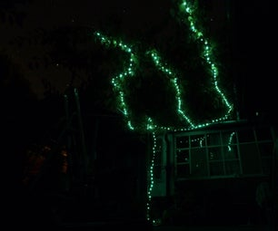 Branch Solar Light for Your Tree, Bush or Wine