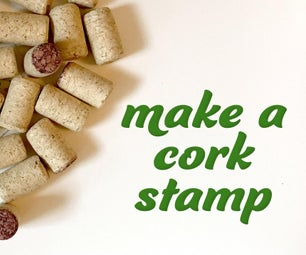 Recycled Cork Stamps
