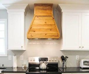 Reclaimed Wood Vent Hood