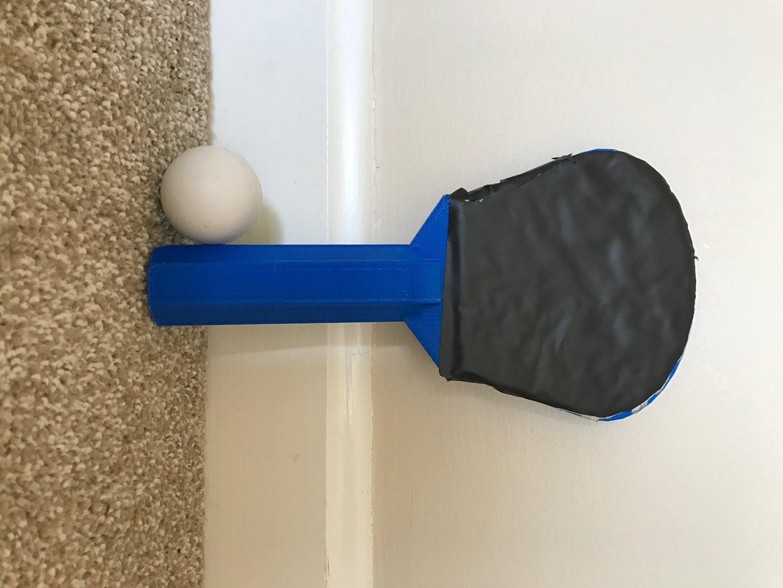 3D Printed Ping Pong Paddle