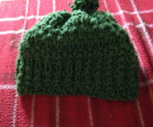 Wooly Knitted Beanie Hat