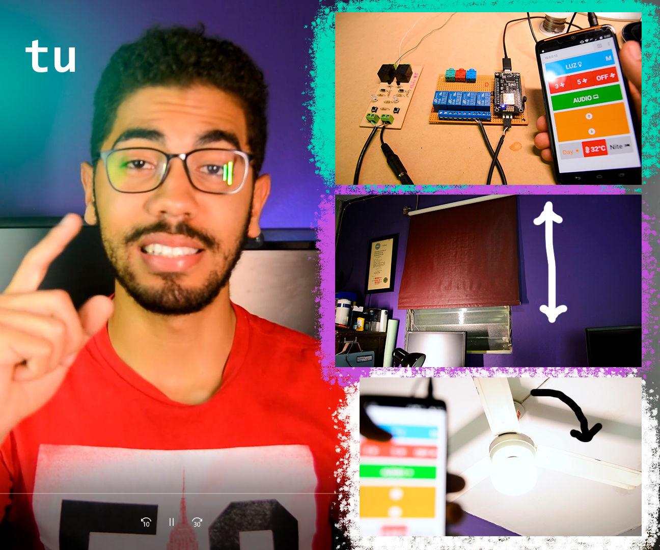 NodeMCU Smart Room | ESP8266 | Arduino