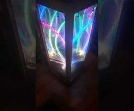 Rainbow 3D Infinity Mirror