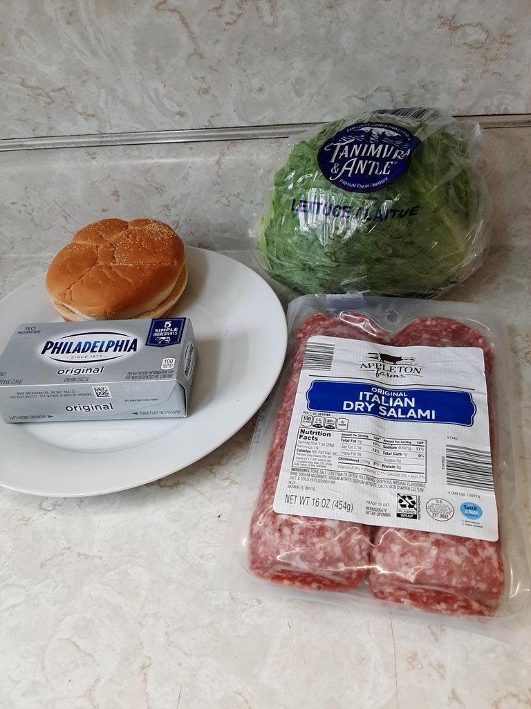 Items to Make Sandwich