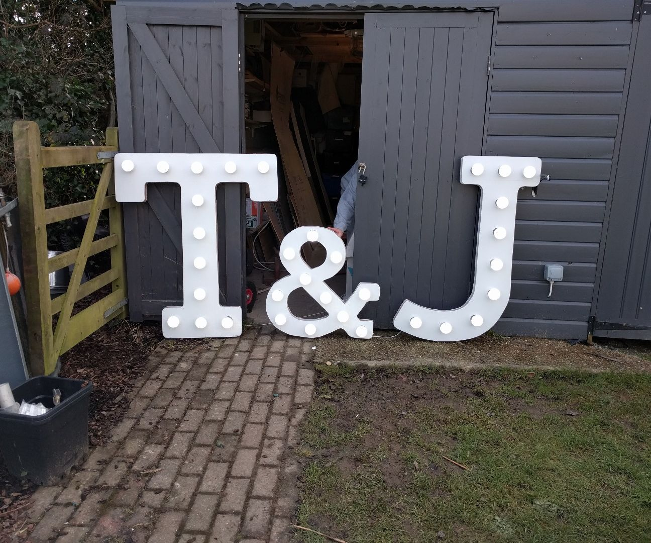 Carnival/Wedding Illuminated Letters